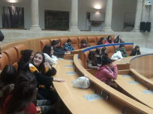 Instantánea con los nuevos integrantes del parlamento riojano.