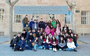Foto de los alumnos que participaron en la pasada salida de día 22 de este mes.