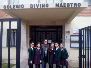 Cuca Gamarra y reporteras./DIVINO 05
