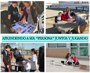 Imágenes de la Gymkana celebrada para fomentar la lucha contra el acoso y la violencia escolar.