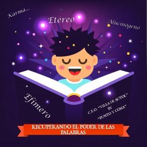 """Imagen del libro mágico del """"Villa de Autol"""" y sus palabras mágicas..."""