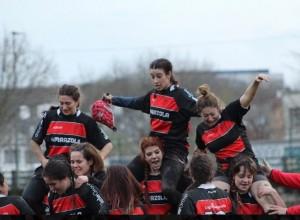 Equipo de rugby femenino